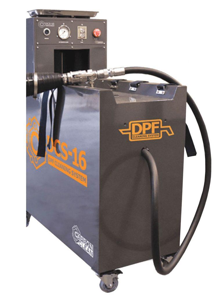 Μηχανή καθαρισμού DPF